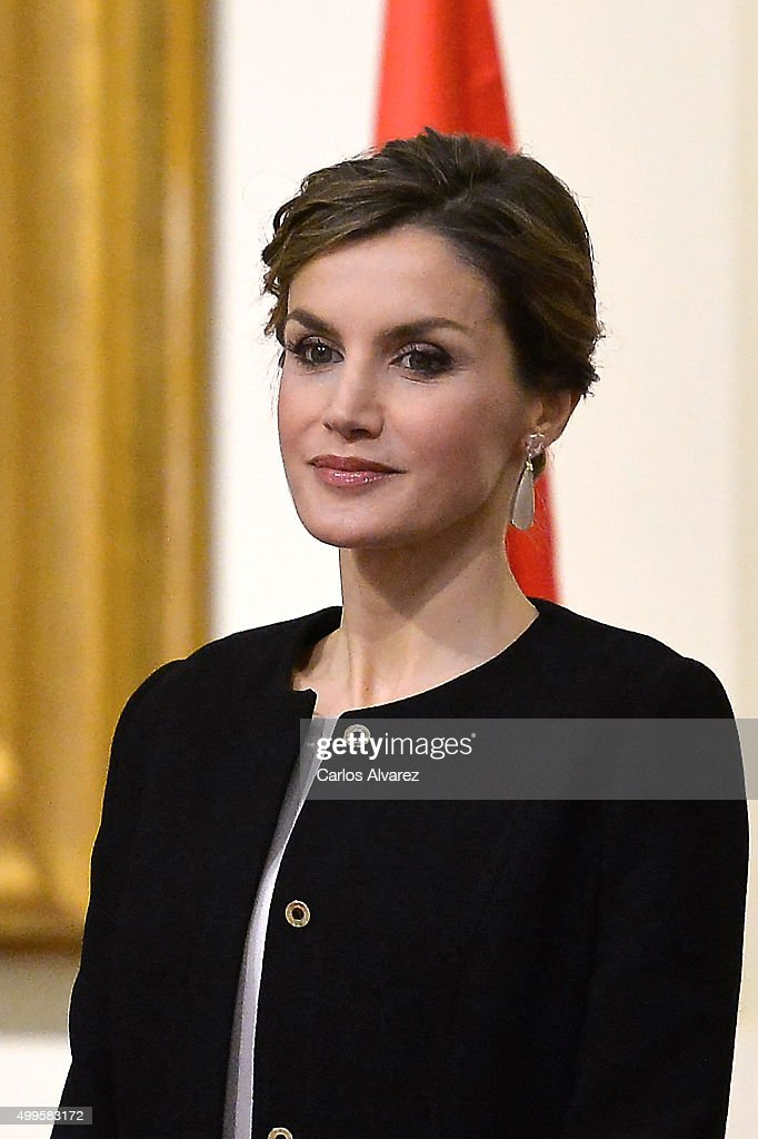 Spanish Royals delivers Gold Medals Of Merit In Fine Arts : News Photo