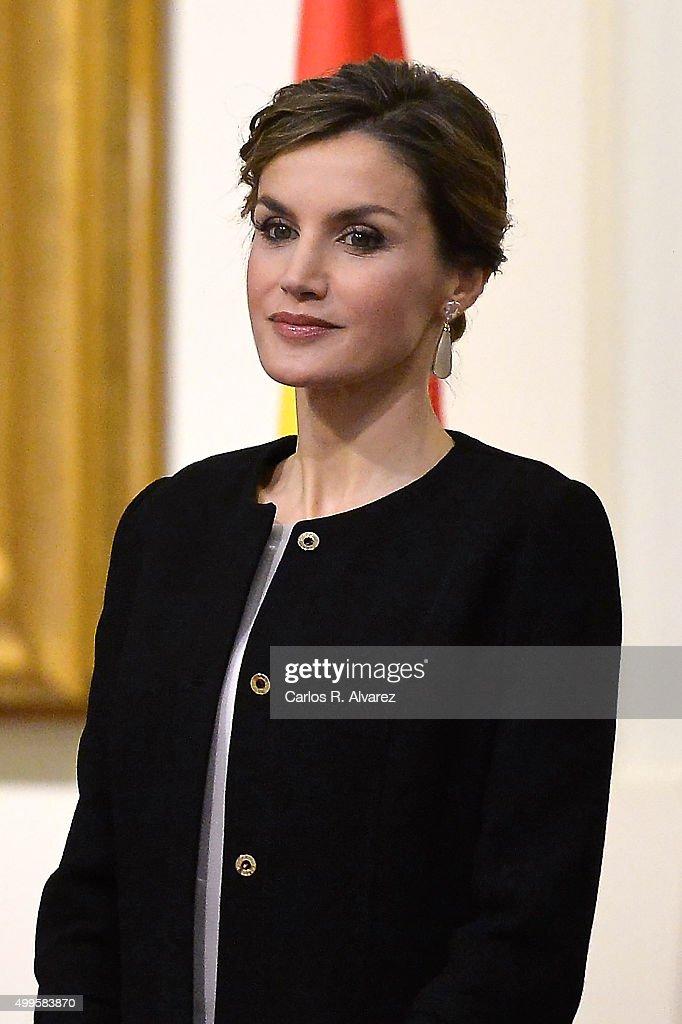 Spanish Royals Delivers Golden Medals Of Merit In Fine Arts : News Photo