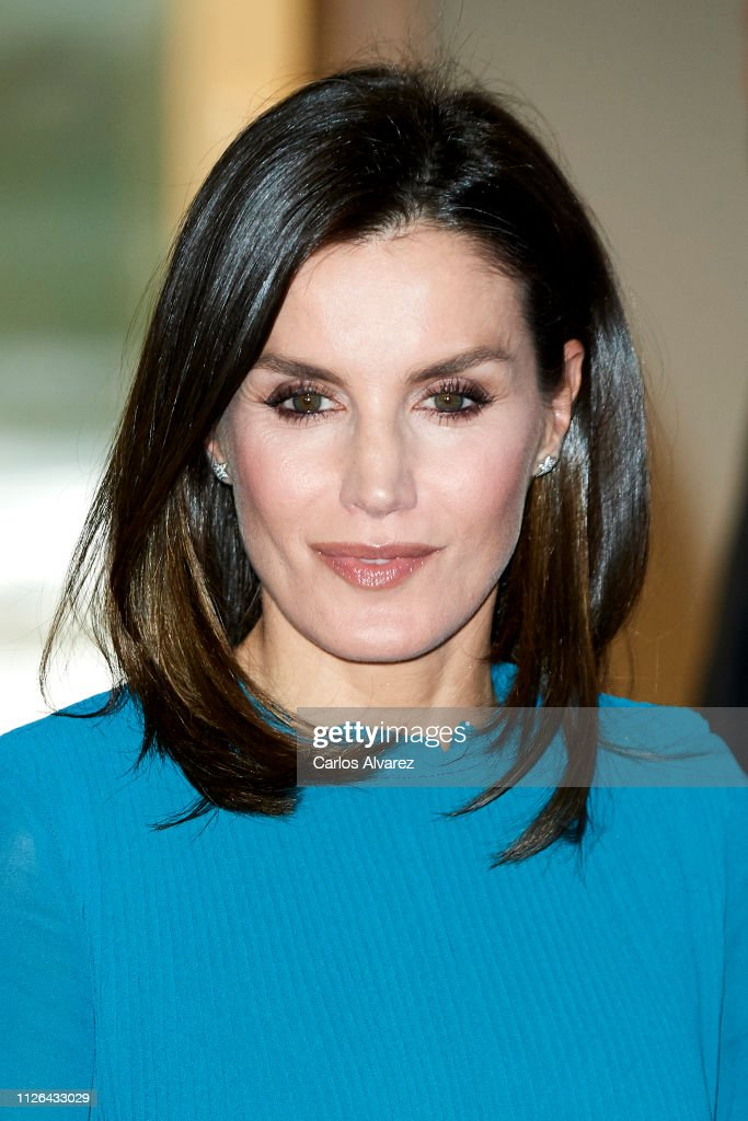 Queen Letizia Of Spain Attends Ibedrola Foundation Scholarships : News Photo