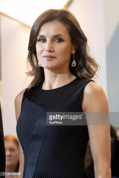 Queen Letizia of Spain attends the 'In Memoriam' concert at the National Auditorium on March 07 2019 in Madrid Spain