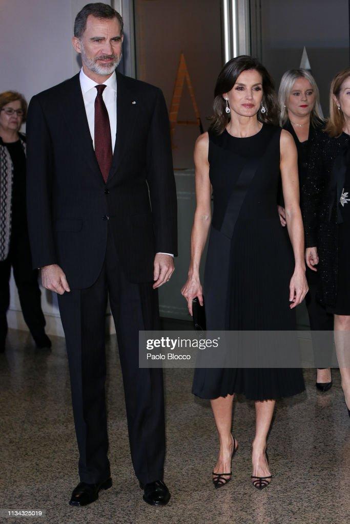 Spanish Royals Attend 'In Memoriam' Concert : News Photo