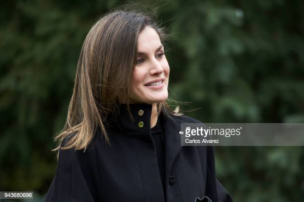 Queen Letizia of Spain attends the 'International Friendship Award' 2018 at the IESE Campus on April 9 2018 in Madrid Spain