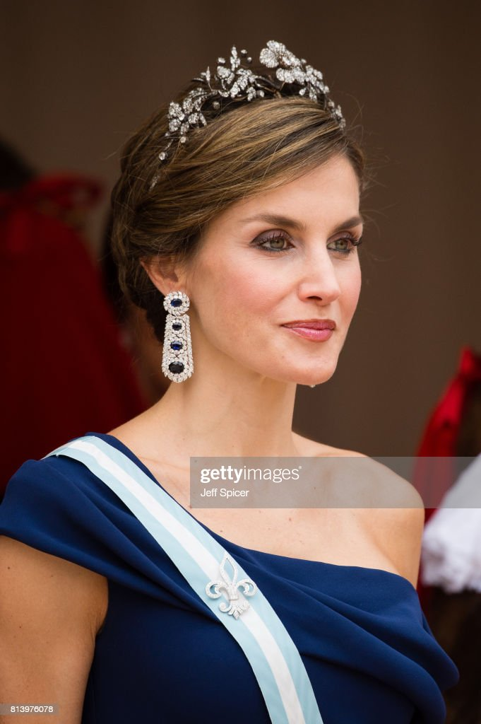 State Visit Of The King And Queen Of Spain - Day 2 : News Photo
