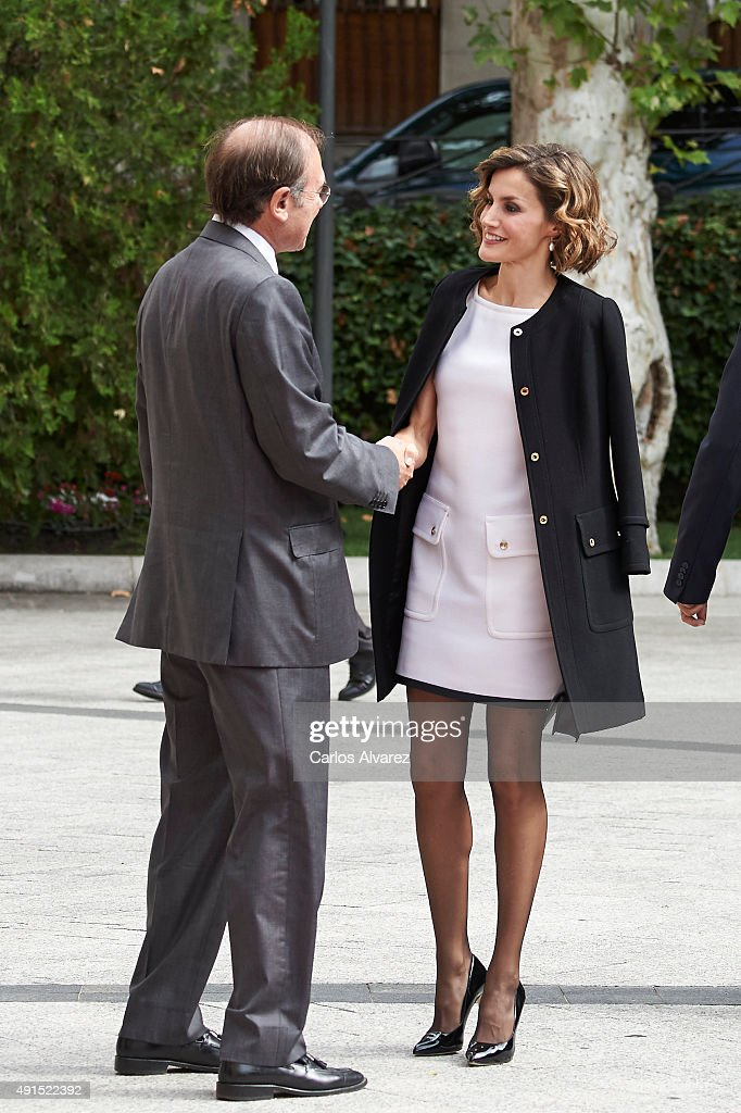 Queen Letizia of Spain Attends 'Luis Carandell' Journalism Award : Nachrichtenfoto