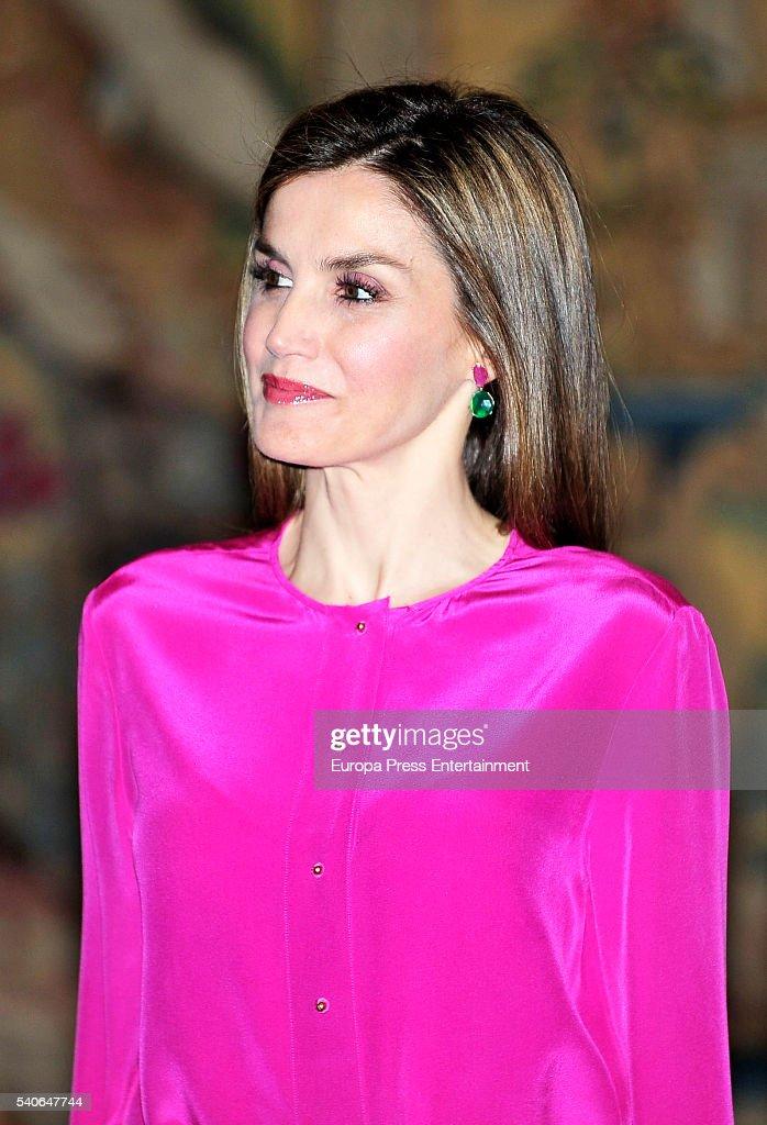Spanish Royals Meet Princess of Asturias Foundation : News Photo