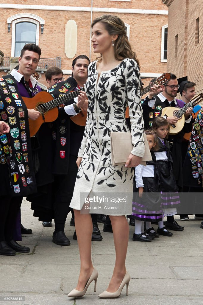 Spanish Royals Deliver 'Miguel De Cervantes' Literature Award To Eduardo Mendoza : News Photo
