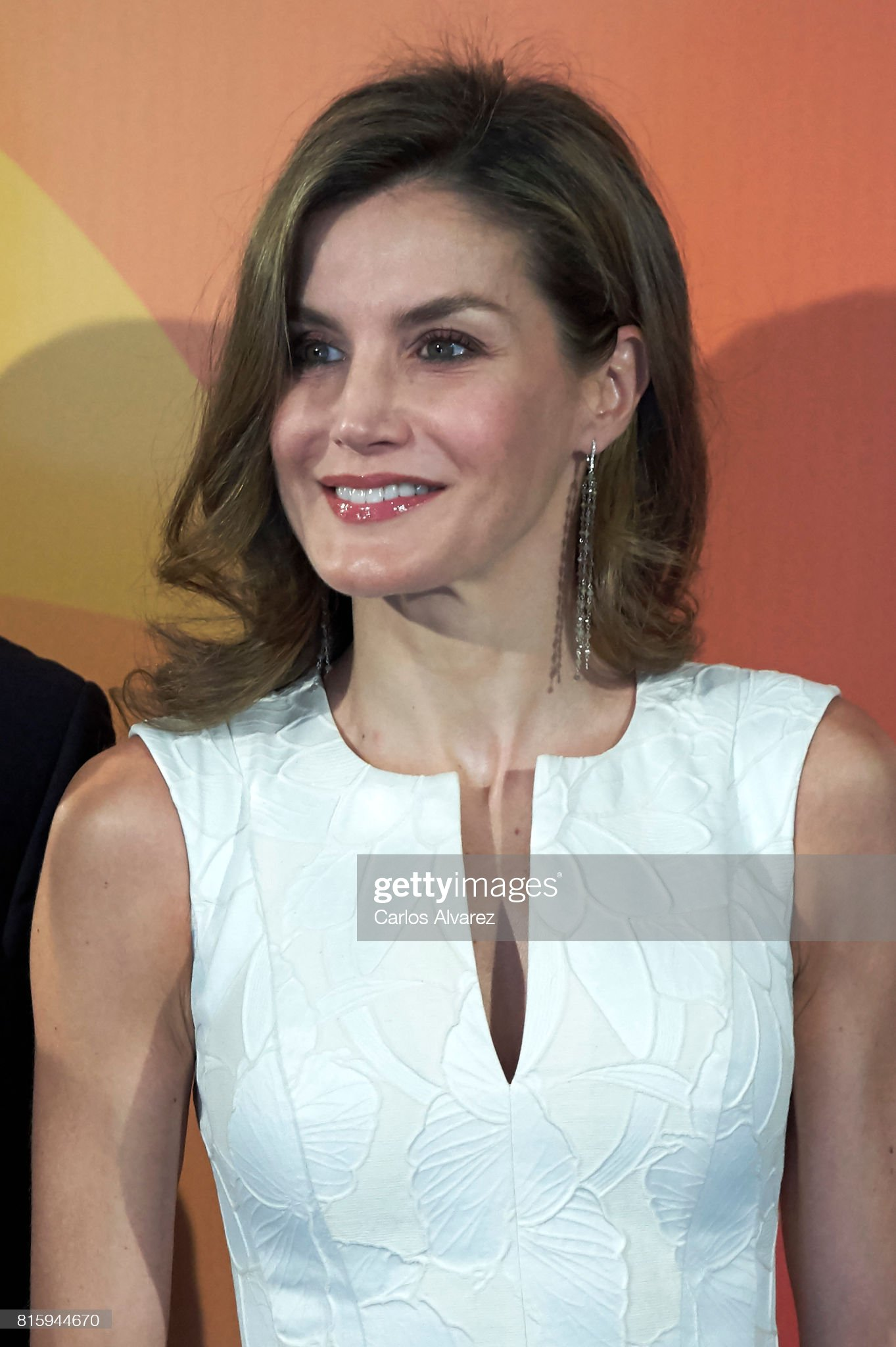 Queen Letizia of Spain Attends National Fashion Awards 2017 : News Photo