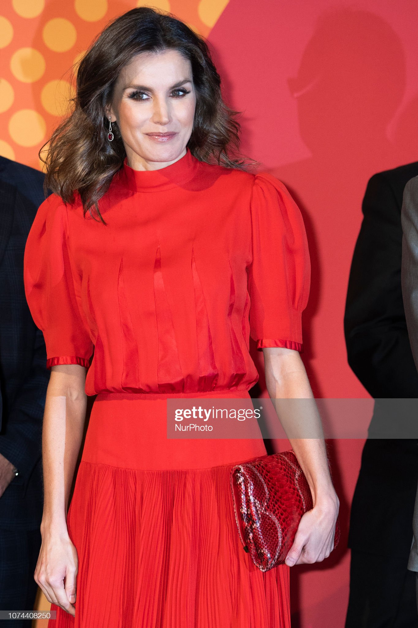 Queen Letizia Of Spain Attends National Fashion Awards : News Photo