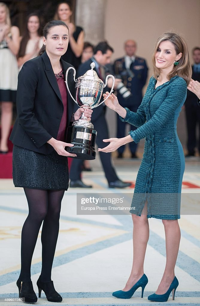 Spanish Royals attend National Sports Awards : News Photo
