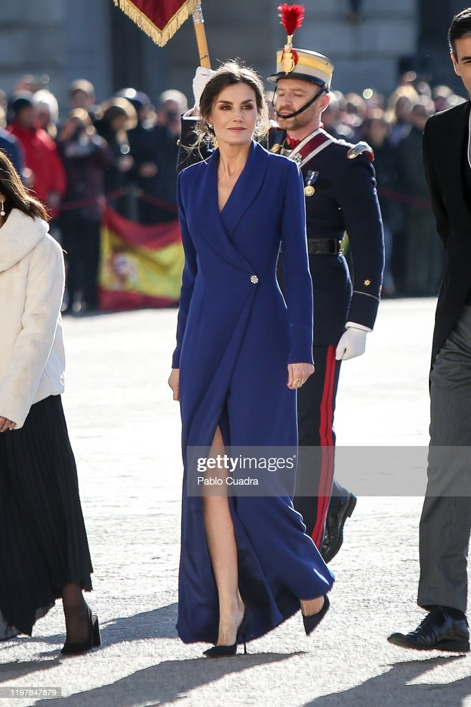 Spanish Royals Celebrate New Year's Military Parade 2020 : News Photo