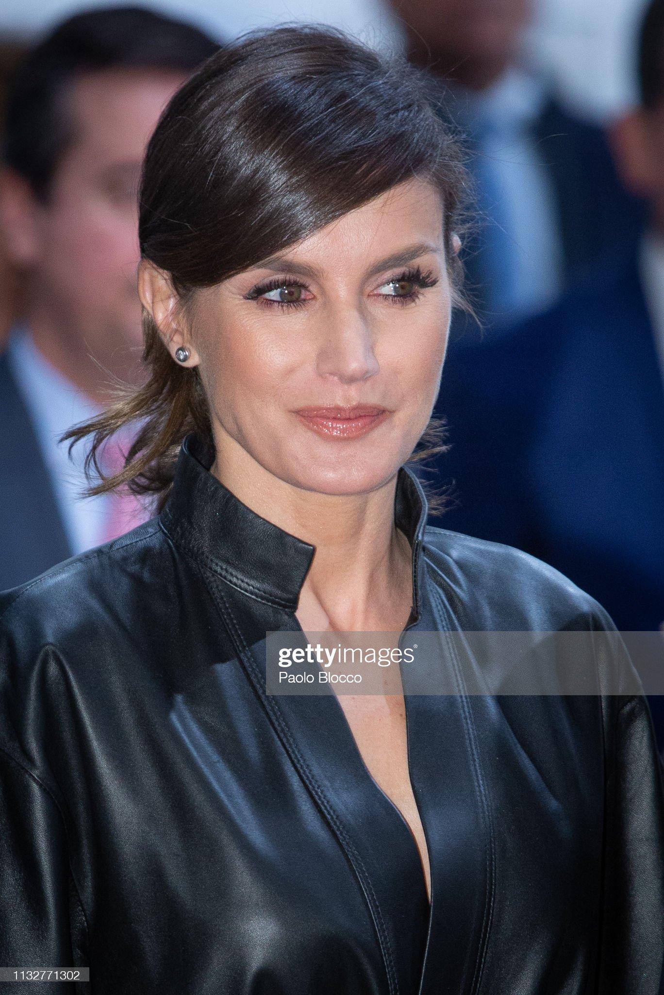 Spanish Royals Attend ARCO Art Fair 2019 : News Photo