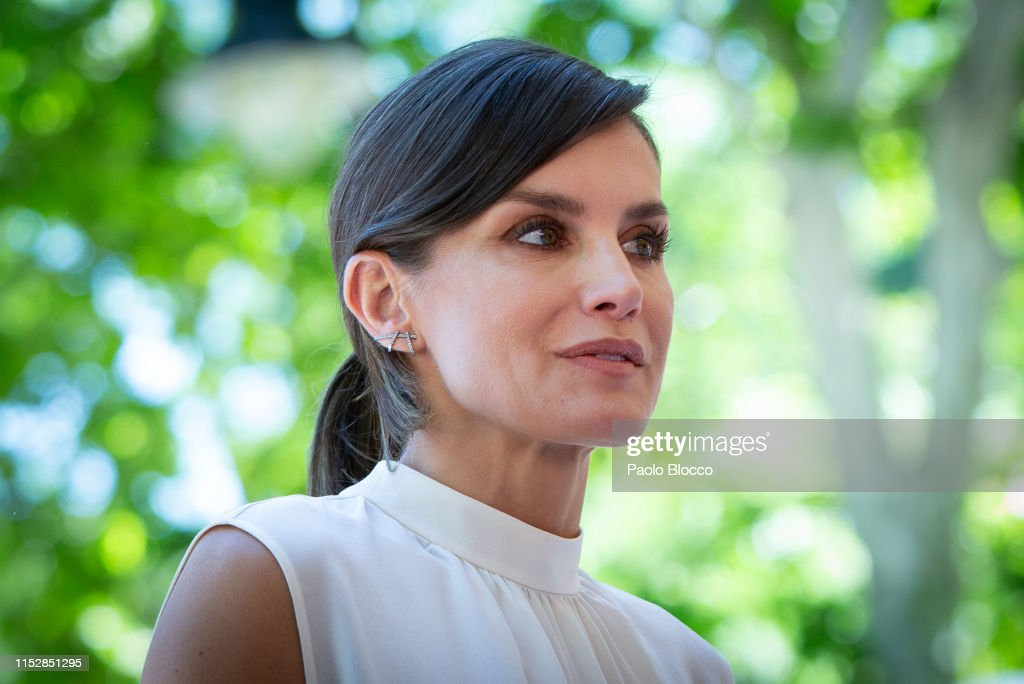 Queen Letizia Of Spain Attends The Opening of Madrid Book Fair 2019 : News Photo