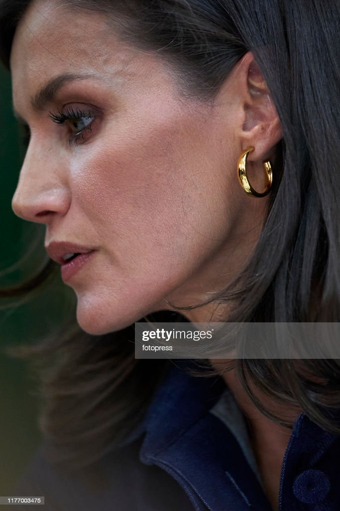 Queen Letizia of Spain Attends The Opening of Professional Courses in Elche : News Photo