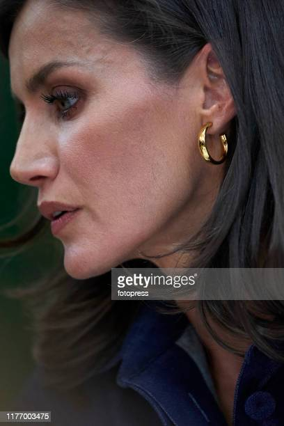 Queen Letizia of Spain attends The Opening of Professional Courses at IES Severo Ochoa on September 25 2019 in Elche Spain