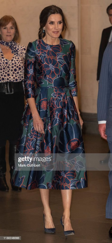 Royals Attend The Opening Of 'Sorolla: Spanish Master of Light' At The National Gallery : News Photo