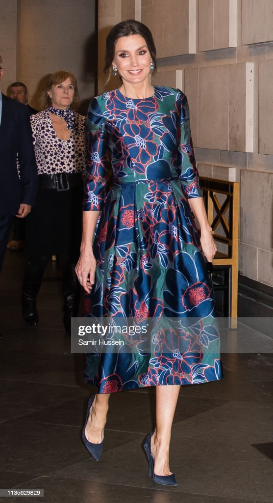 """Royals Attend The Opening Of """"Sorolla: Spanish Master of Light"""" At The National Gallery : Nieuwsfoto's"""