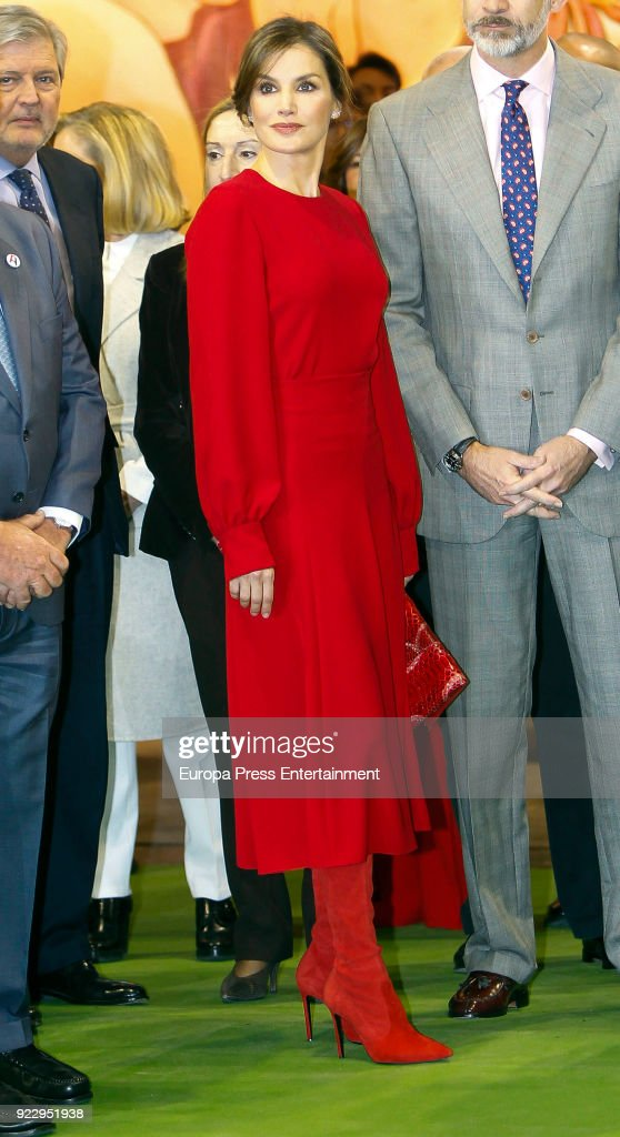 Spanish Royals Attend The Opening of ARCO Fair 2018
