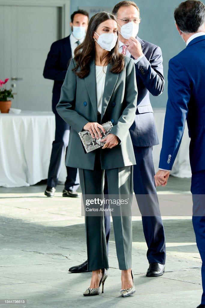 """Queen Letizia of Spain Presides The International Congress On Health And Nutrition """"FAO-Conxemar"""" In Vigo : News Photo"""