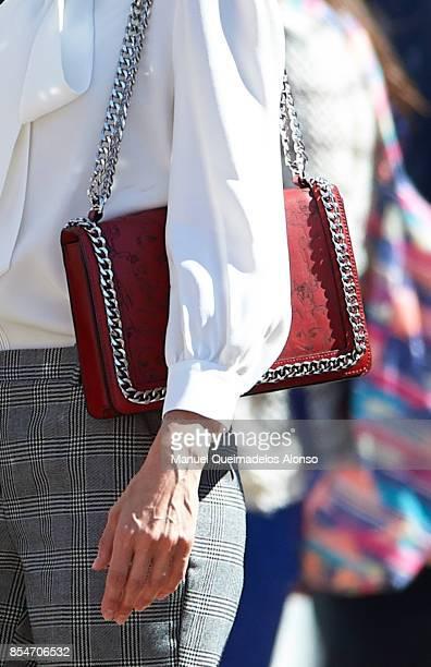 Queen Letizia of Spain attends the Opening of vocational training course 2017/2018 at Instituto de Educacion Secundaria ÒSegundo de ChomonÓ on...