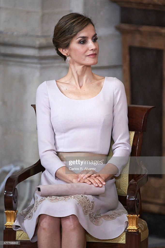 Spanish Royals Deliver 'Order of the Civil Merit' Awards : News Photo