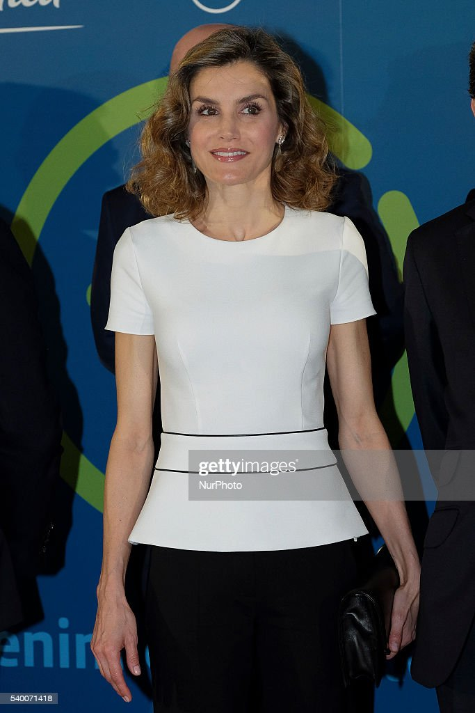 Queen Letizia of Spain Attends The Presentation Of Telefonica's Platform For Contents in Tv : News Photo