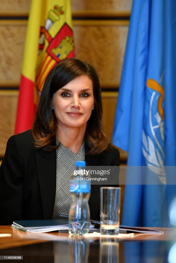 CHE: Queen Letizia Of Spain Attends World Health Assembly