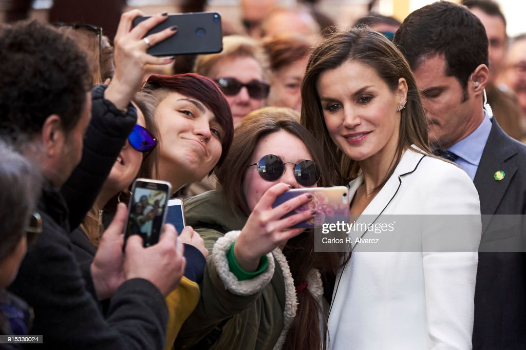 Queen Letizia of Spain Attends 'Princess Of Girona Foundation' Prize In Arts And Literature