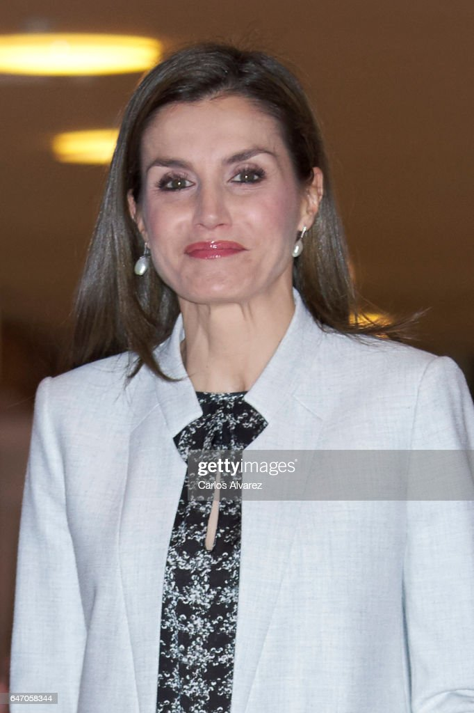 Queen Letizia Of Spain Attends The Rare Diseases Day Offcial Act : News Photo