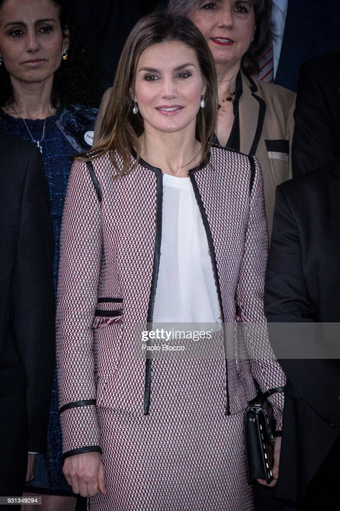 Queen Letizia Of Spain Attends the Rare Diseases Day