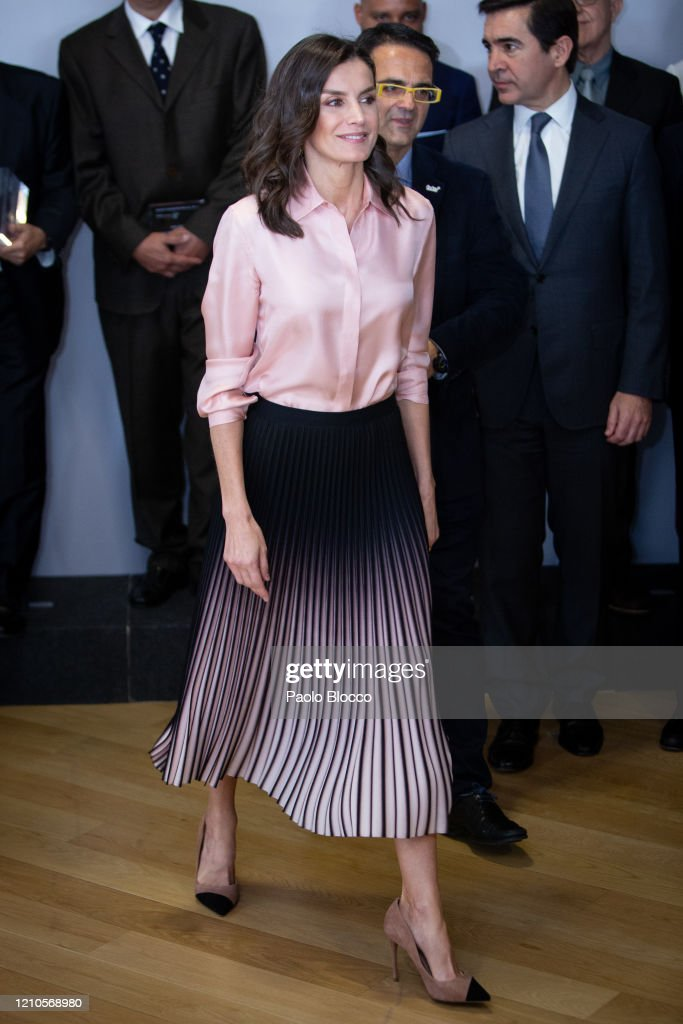 Queen Letizia Attends the Rare Diseases World Day Event : Foto di attualità