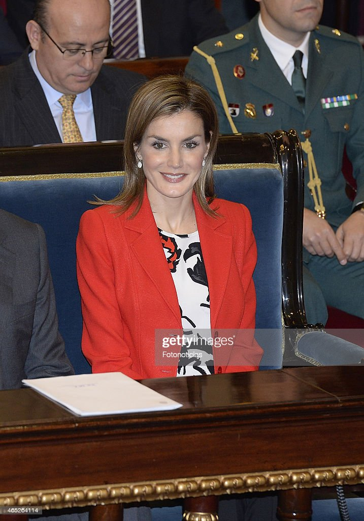 Princess Letizia Attends the Rare Diseases World Day Event : News Photo