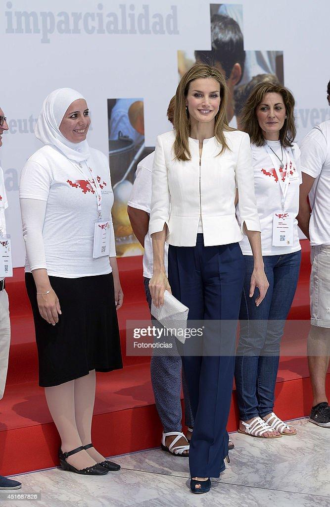 Queen Letizia Attend Red Cross 150 Anniversary : News Photo