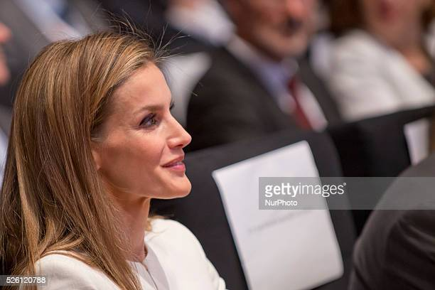 Queen Letizia of Spain attends the Red Cross 150 Anniversary at the Palacio Municipal de Congresos on July 4 2014 in Madrid Spain