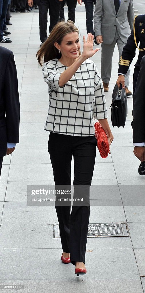 Spanish Royals Attend the Red Cross Fundraising Day : News Photo
