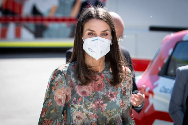 ESP: Queen Letizia Attends Attend Red Cross Fundraising Day