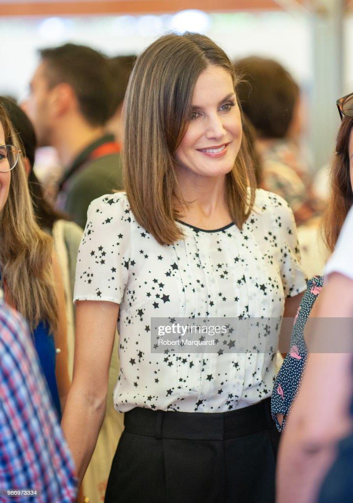 Spanish Royals Attend 'Rescatadores de Talento' Annual Meeting in Girona