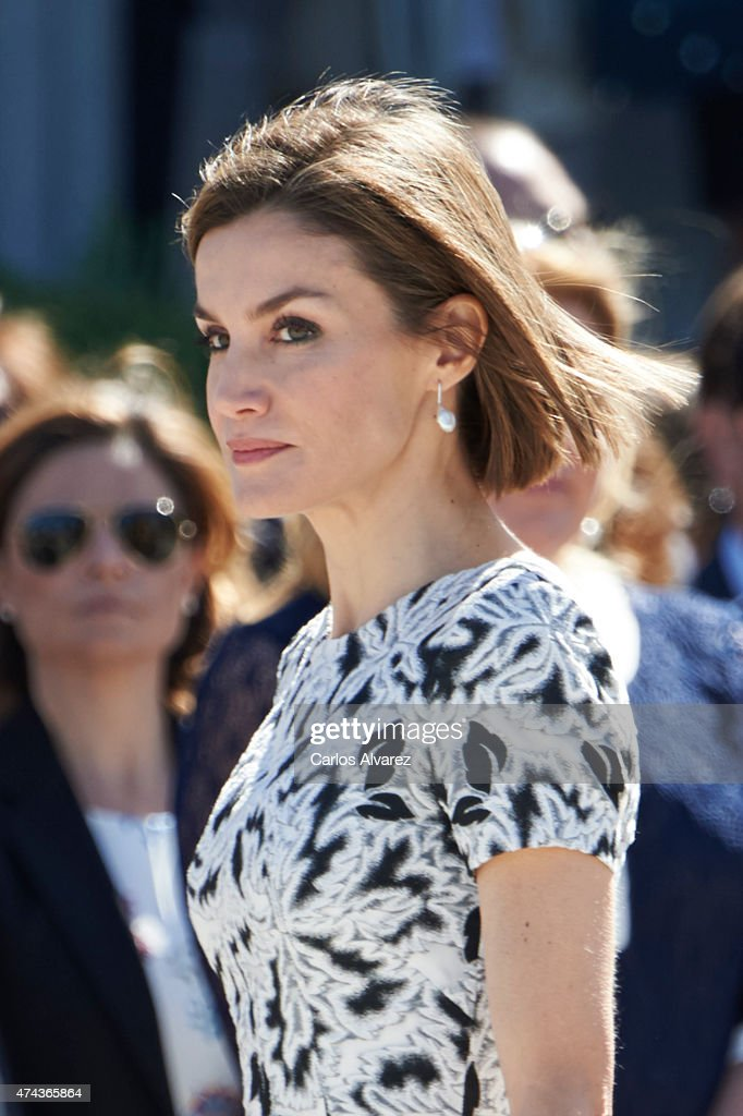 Spanish Royals Attend The New Royal Guards Flag Ceremony : News Photo