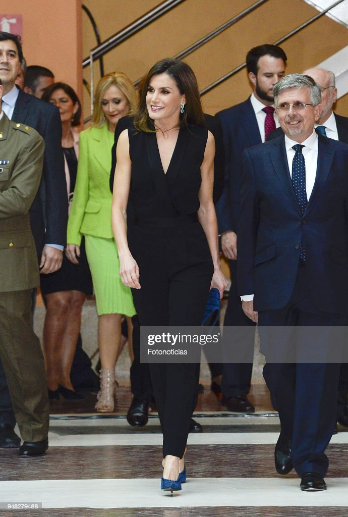 Queen Letizia of Spain Delivers Literature Awards