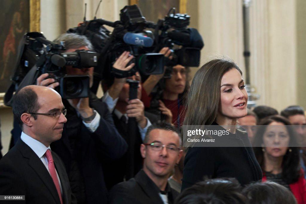 Queen Letizia Of Spain Delivers The 'Tomas Salcedo Award'