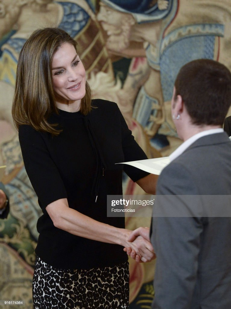 Queen Letizia Of Spain Delivers The 'Tomas Salcedo Award'