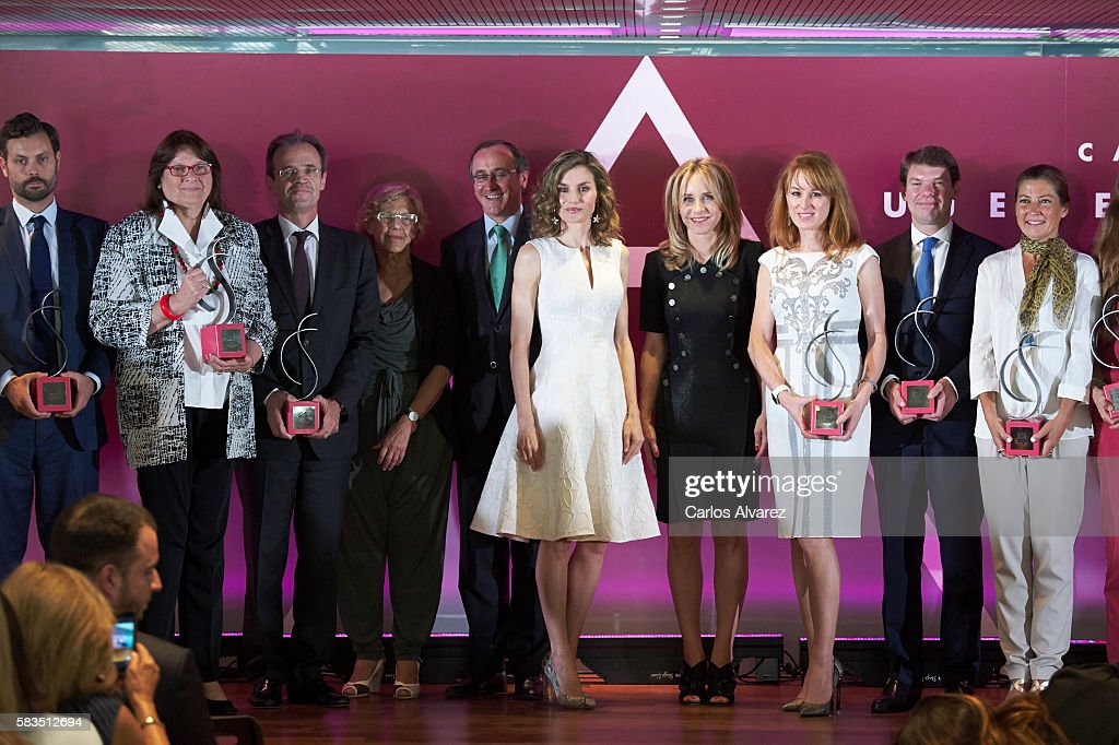 Queen Letizia Attends The XXV FEDEPE Awards Ceremony : News Photo