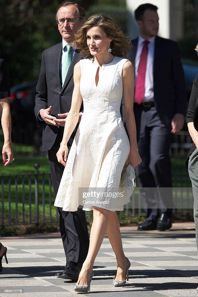Queen Letizia Attends The XXV FEDEPE Awards Ceremony : News Photo