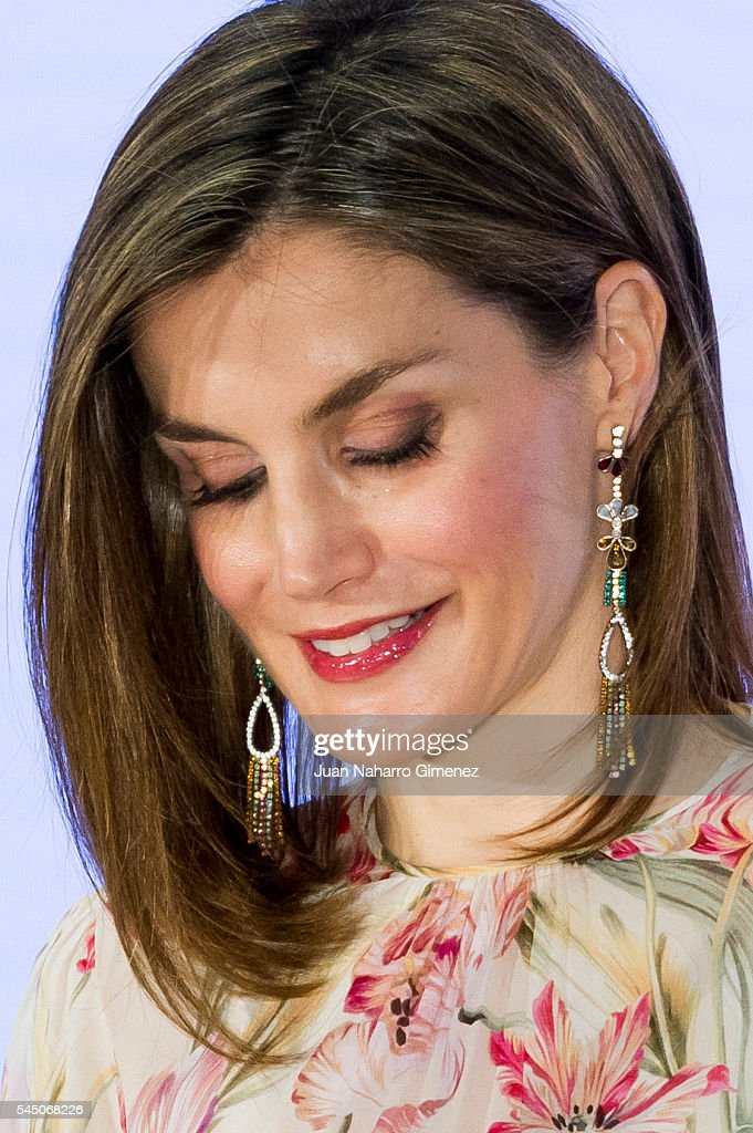 Spanish Royals Deliver Iberdrola Foundation Scholarships : News Photo