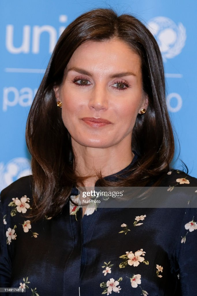 Queen Letizia Of Spain Attends UNICEF Spanish Committee Awards 2019 : News Photo