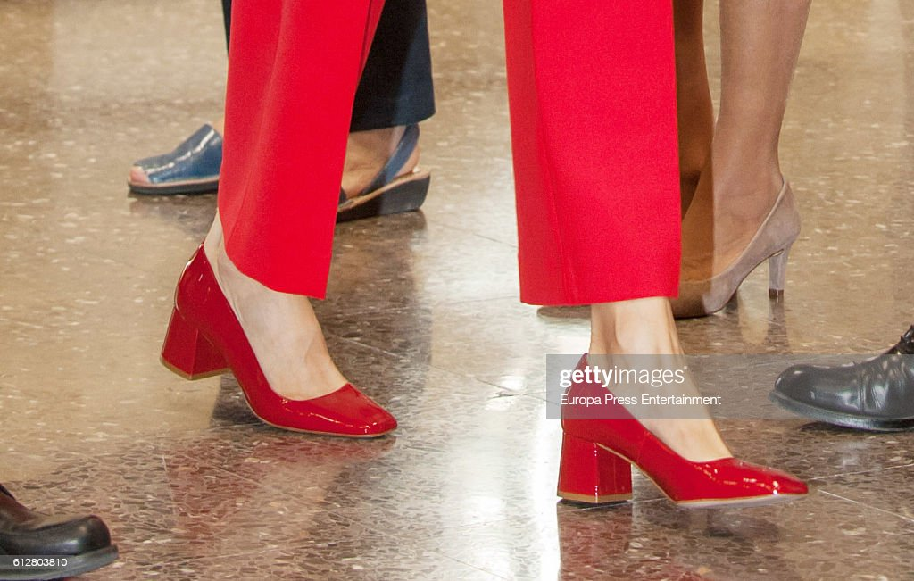Spanish Royals Attend the Red Cross World Day : News Photo