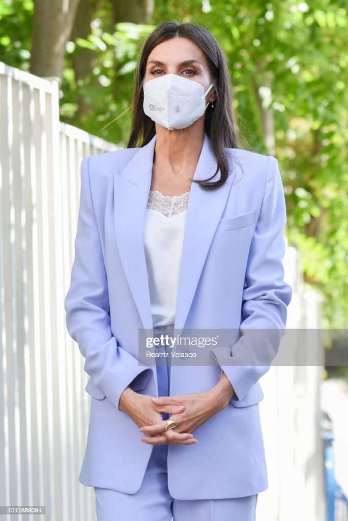 Queen Letizia Attends 'World Cancer Reasearch Day' Event In Madrid : News Photo