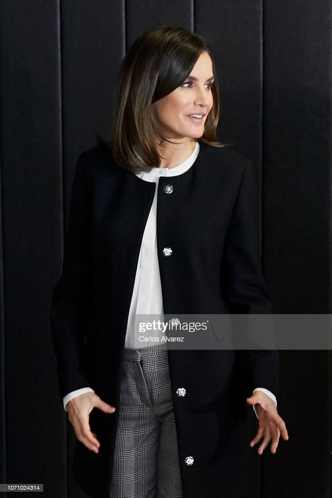 Queen Letizia of Spain Attends 'Integra Awards By BBVA' : Foto di attualità