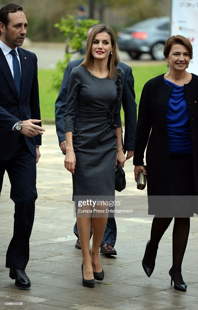 Queen Letizia of Spain Attends National Volunteering Congress in Palma de Mallorca : News Photo