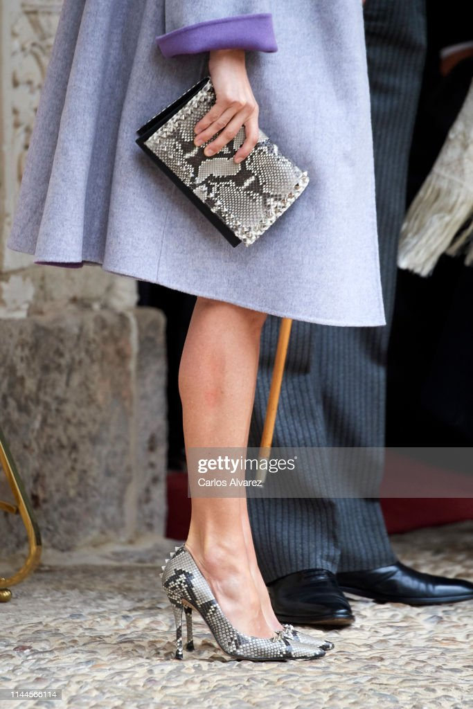 Spanish Royals Attend 'Miguel de Cervantes' Literature Awards : News Photo