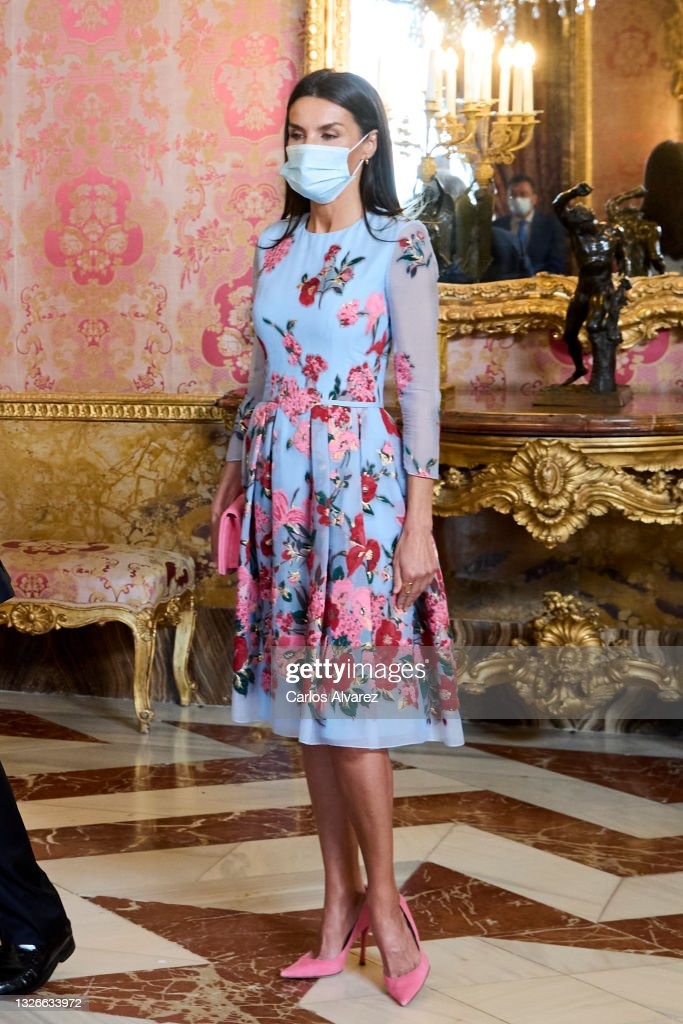 Spanish Royals Host A Lunch For Secretary-General of the United Nations, Antonio Guterres : News Photo